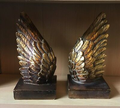 Latex Mould For A Pair of Angel Wing Bookends Art & Crafts Hobby Business
