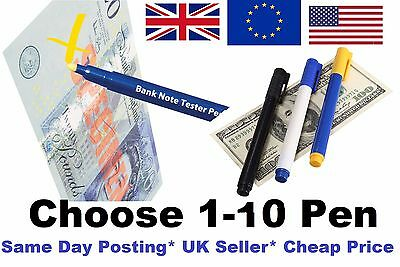 1x Money Tester Pen,Counterfeit checker Bank Note Detector Pens Fake Forgery