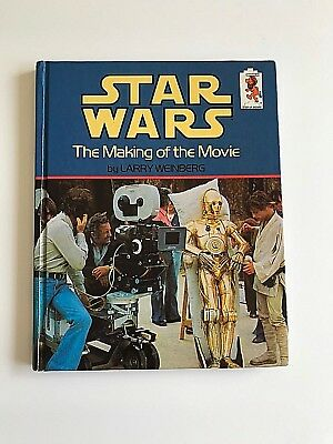 Star Wars The Making of the Movie Step-Up Book 1980 Larry Weinberg