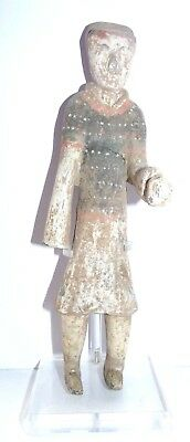 Ancient Chinese Terracotta Guard Figure - China - Early Western Han Dynasty
