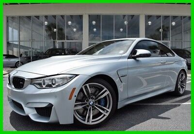 BMW M4 2015 BMW M4 ~~ LOW MILES ~~ COUPE 2015 Used Turbo 3L I6 24V Automatic RWD Coupe Premium