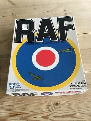 RAF August 1940 The Battle of Britain West End Games