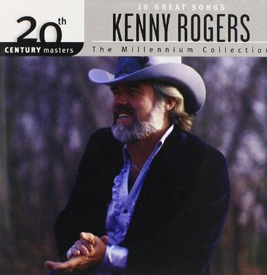 KENNY ROGERS - Millennium Collection - 20th Century Masters - CD - SEALED/NEW