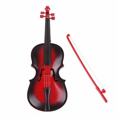 Red kids Educational Creative Gift Toys Simulation Led Violin Musical Toy O5V3