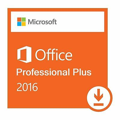 MS Office 2016 Professional Plus Retail Key 1 PC Install New Features