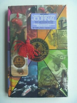 Antioch Star Wars 20yr Limited Edition Journal With Book Mark Sealed #2843