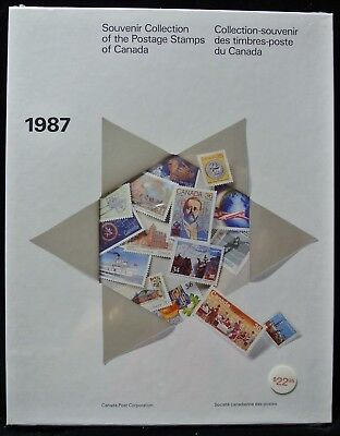 1987 SOUVENIR COLLECTION OF THE POSTAGE STAMPS OF CANADA  - FV $18.37 Sealed #30