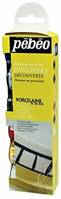 Pebeo Porcelaine 150 China Paint Discovery Collection of 6 Assorted F/S M