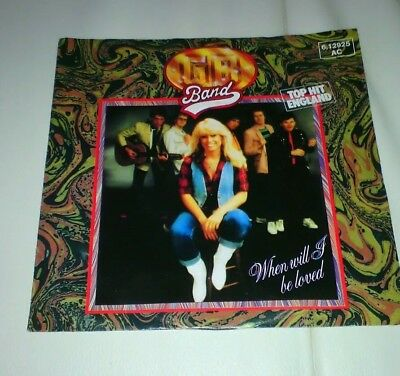 """G.B. Band - When Will I Be Loved - Survival - 7"""" Single - 3816"""