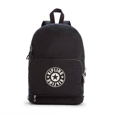 589f922c6cc KIPLING CLASSIC NIMAN FOLD Foldable Backpack LIVELY BLACK - RRP £74 ...