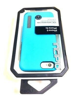 Incipio DualPro Case/Cover For Apple iPhone 6 & iPhone 6S in BLUE / GRAY Colors