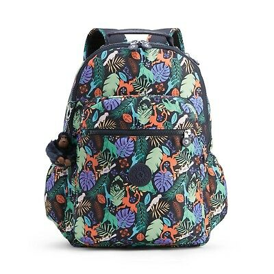 2db99082927 Kipling SEOUL GO Backpack with Laptop Protection BARE NECESSITIES Print RRP  £109