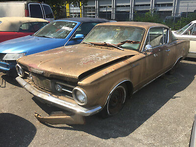1965 Plymouth Barracuda  1965 Barracuda REAL BARNFIND ONE OWNER NO RESERVE NEEDS COMPLETE RESTO, PARTS?