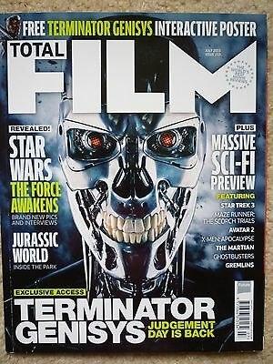 Total Film # 233  July 2015  Terminator Genisys - July 2015  inc free poster