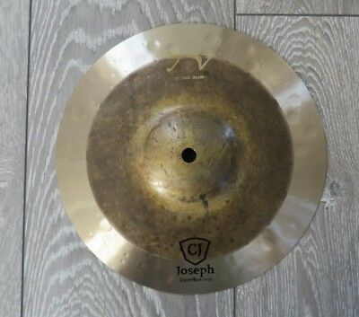 "10"" splash cymbal - Tongxiang TV series - DARK - B20 Alloy! - Byzance Dual like"