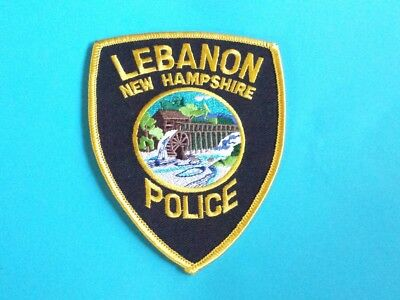 Lebanon New Hampshire Police Shoulder Patch