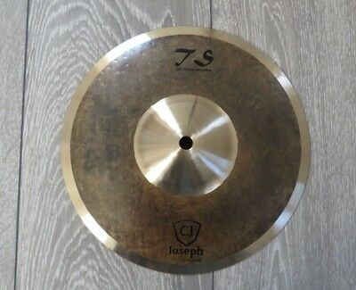 "10"" splash cymbal - Tongxiang TS series - DARK - B20 Alloy! - Byzance like"