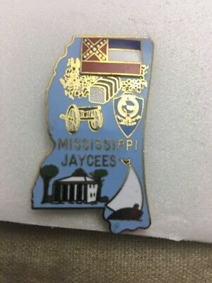 Mississippi Jaycees State Collectors Pin - JH178