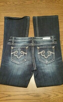 Womens Size 10 32W 31L Rerock For Express Bootcut Jeans NWOT