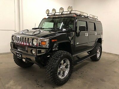 2004 Hummer H2  Hummer H2 SUV Lifted Brand New TIRES