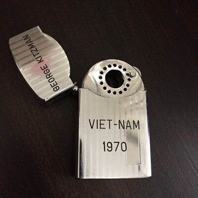 Zenith Lighter Vietnam Era 1970 US Military Pipe Cigarette Pocket Lighter
