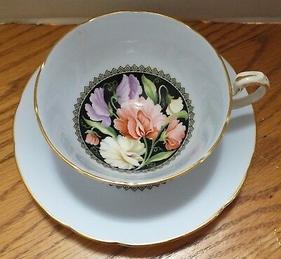 PARAGON FLORAL CENTER CUP and SAUCER