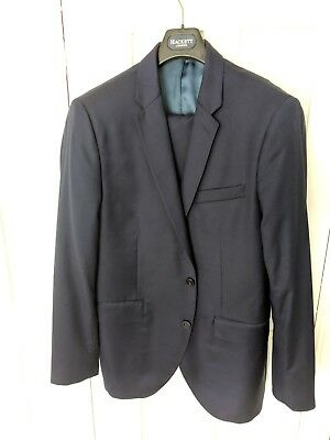 Hackett Navy suit 44R