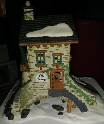 Dickens Village Building Dept Department 56 The Maltings
