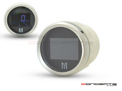 52mm GPS Digital Speedometer MPH / KPH + Display Lights