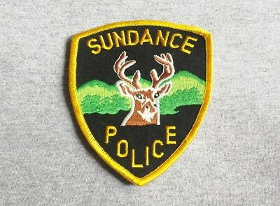Sundance Wyoming Police Shoulder Patch