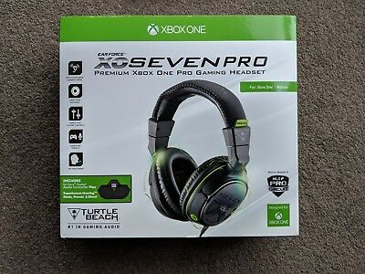 Turtle Beach Ear Force XO Seven Pro Wired Black Headset for XBOX One XB1