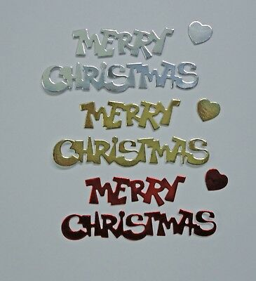 Merry Christmas Die Cut Words  - Pkt 9