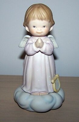 "524670 Memories of Yesterday ""Let me Be Your Guardian Angel"" Figurine 1990"