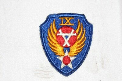 Original WW II Military Patch IX Engineer Command  Excellent Condition