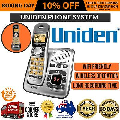 Cordless Telephone 2x Handsets Home Office Phone w/ Answering Machine DECT NBN
