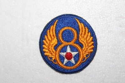 Original WW II Military Patch 8th Air Force  Excellent Condition