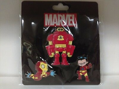 NYCC 2015 IRON MAN PIN PACK 3 Skottie Young Scottie Marvel New York Comic Con