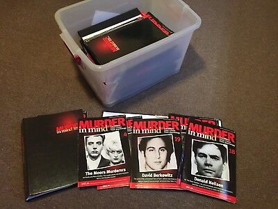 Murder In mind magazine Complete Set With Binders