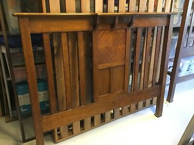 Antique Bed and Bedside Tables