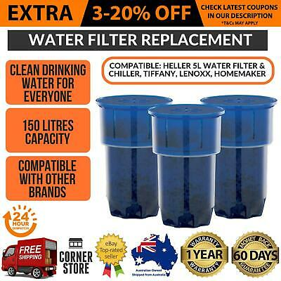 Homemaker Table Top Water Chiller Filter Replacement 3 Pack Water Filtration