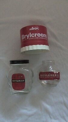 old brylcreem jars