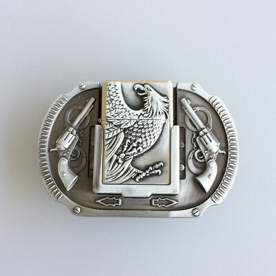 Men Belt Buckle Eagle Guns Lighter Belt Buckle Gurtelschnalle also Stock in US