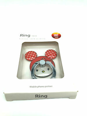 Hello Kitty Universal Mobile Phone 360° Ring Stent Adhesive Cell Phone Kickstand