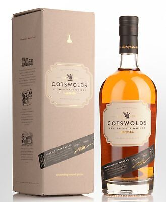 Cotswolds English Single Malt Whisky (700ml)