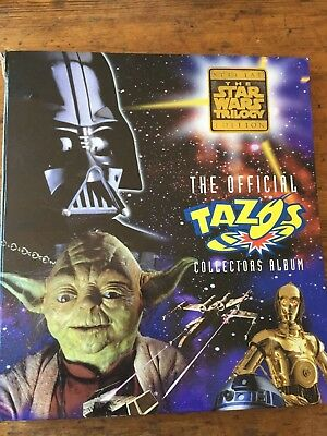 Two Incomplete sets of star wars tazos
