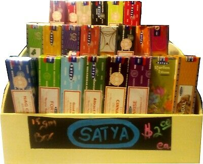 Satya Incense 15g   Assorted Scents