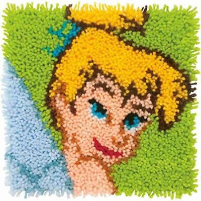 Disney Tinkerbell Latch Hook Kit by Dimensions 30 x 30 cm New Free Postage