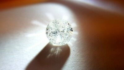 1.52 ct natural white diamond I3 coulour G untreated with AIG certificat