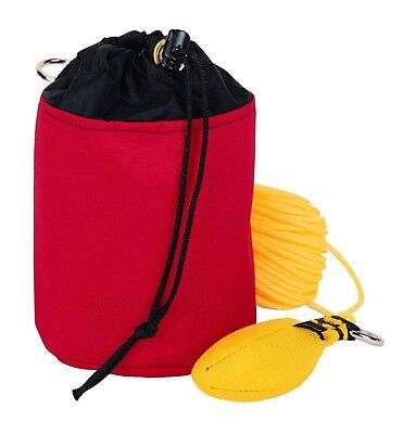 Weaver Leather Throw Line Storage Bag Red