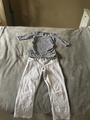 Maternity Outfit!! Perfect For End Of Summer. Size 10 (8 Per Label But Im 10).